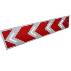 Светодиодный активный импульсный дорожный знак 1.34.1/1.34.2 Направление поворота 2250*500мм, 3150*700мм