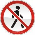 """3.10. """"Движение пешеходов запрещено"""""""