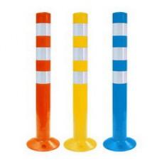 Мягкий дорожный сигнальный столбик для разделения потоков движения 750мм (парковочный столбик, столбик сигнальный упругий)