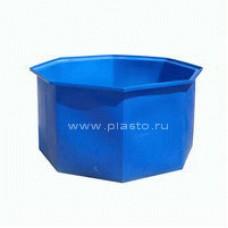 Бассейн пластиковый (пластиковая восьмигранная открытая емкость) 6000л