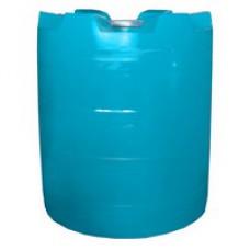 Пластиковая вертикальная цилиндрическая емкость для воды или дизельного топлива 1200л