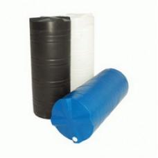 Пластиковая вертикальная цилиндрическая емкость для воды или дизельного топлива 275л
